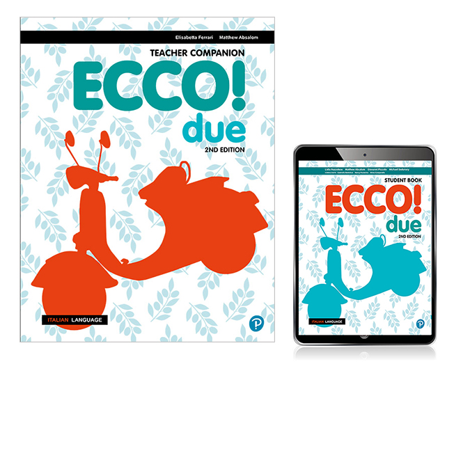Ecco! due Teacher Companion, Teacher eBook and Audio Download, 2nd Edition