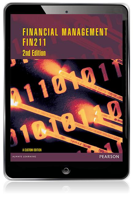 Financial Management FIN211 (Custom Edition eBook)