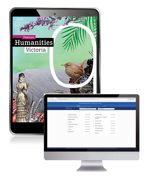 Pearson Humanities Victoria  9 eBook and Lightbook Starter - Image