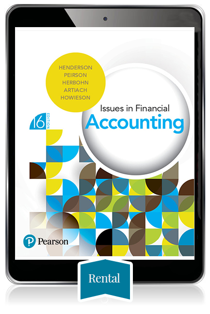 Issues in Financial Accounting eBook - 180 day rental - Image
