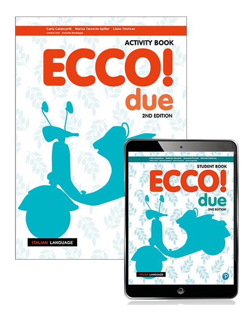 Ecco! due eBook with Activity Book, 2nd Edition
