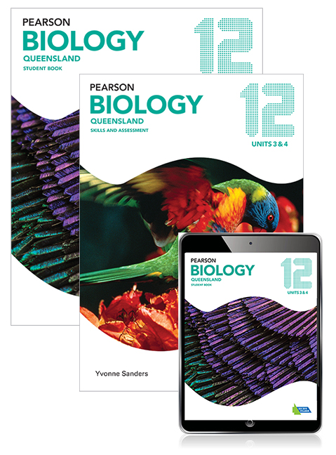 Pearson Biology Queensland 12 Student Book, eBook and Skills & Assessment Book