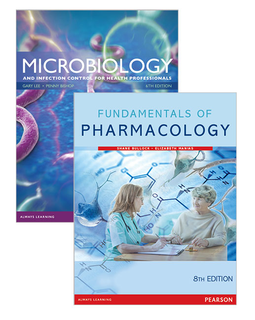 Fundamentals of Pharmacology + Microbiology & Infection Control for Health Professionals, 8th Edition