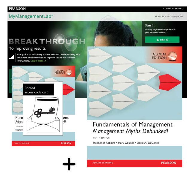 Value Pack Fundamentals Management Global Edition Mymanagementlab