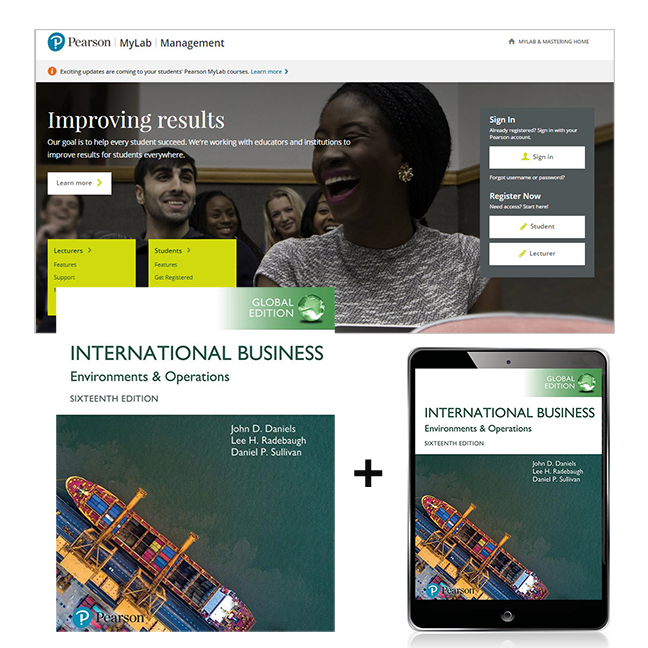 Pearson search results with category international business global edition mylab management with etext 16e by daniel fandeluxe Image collections