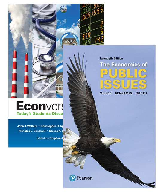 Econversations: Today's Students Discuss Today's Issues + Economics of Public Issues, 20th Edition