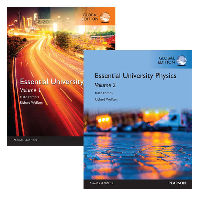 Essential University Physics: Volumes 1 & 2, Global Edition, 3rd Edition