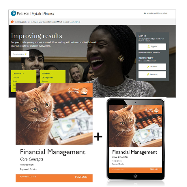 Financial Management: Core Concepts, Global Edition + MyLab Finance with eText, 3rd Edition
