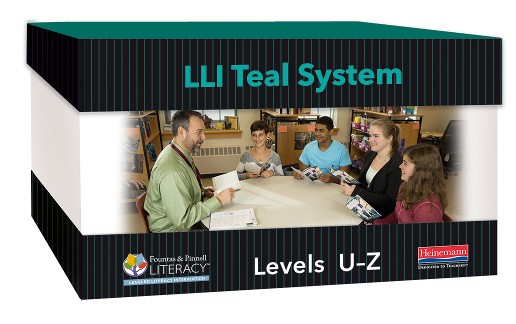 Fountas Pinnell Leveled Literacy Intervention LLI Teal System