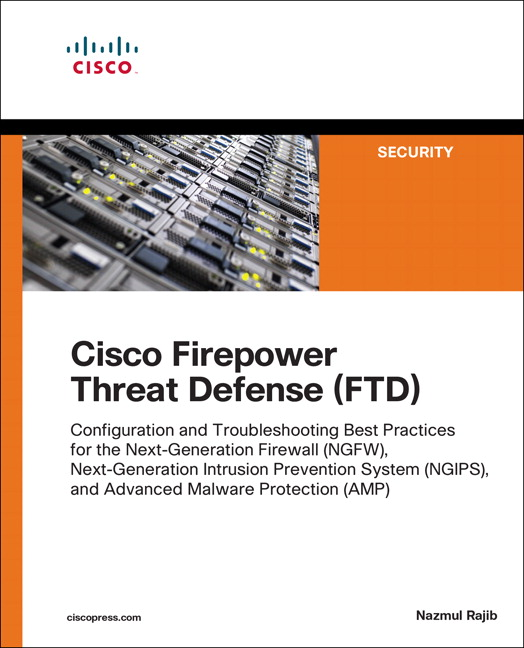 Cisco firepower threat defense ftd 1st rajib nazmul buy pearson 9781587144806 9781587144806 cisco firepower threat defense ftd fandeluxe Images