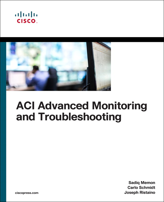ACI Advanced Monitoring and Troubleshooting, 1st, Memon