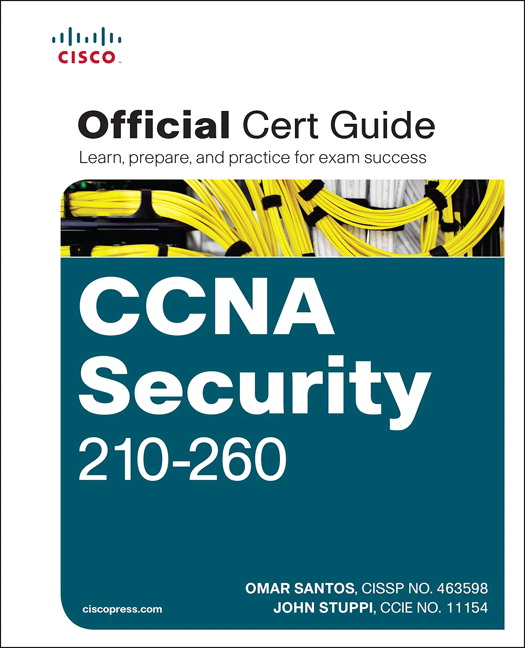 Ccna security 210 260 official cert guide 1st santos stuppi pearson 9781587205668 9781587205668 ccna security 210 260 official cert guide fandeluxe Gallery