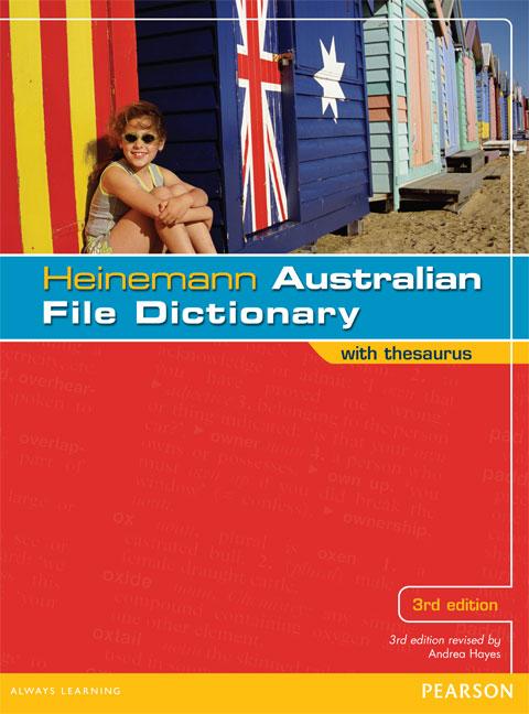 Heinemann Australian File Dictionary with Thesaurus