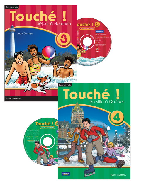 Touche ! 3 & 4 Student CD-ROM Year Pack