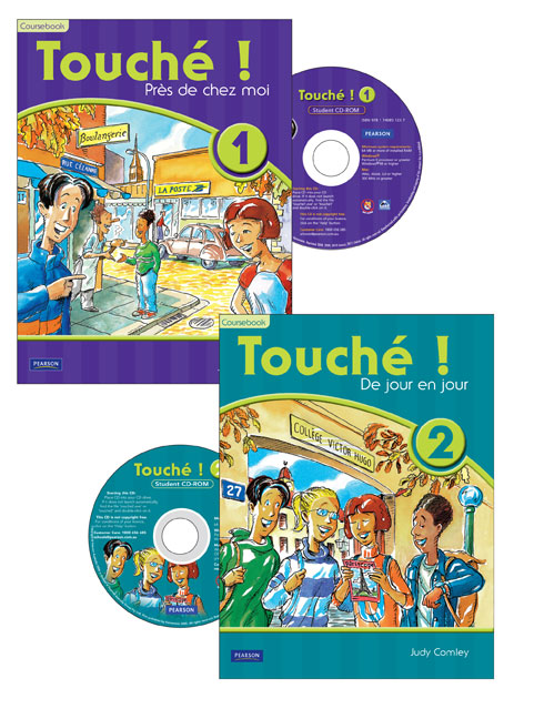 Touche ! 1 & 2 Student CD-ROM Year Pack