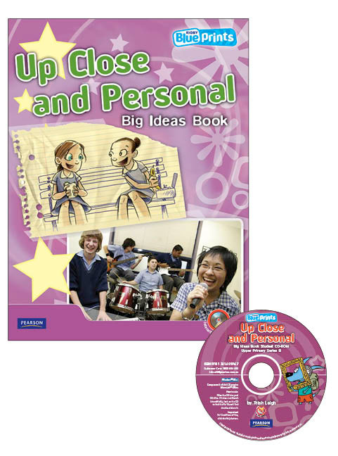 Blueprints Upper Primary B Unit 2: Up Close and Personal Big Ideas Book and CD-ROM