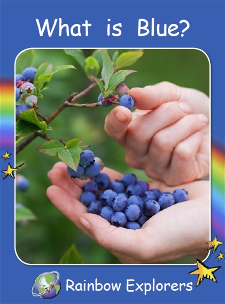 Red Rocket Readers: Rainbow Explorers: What is Blue? (Reading Level 2/F&P Level B) - Image