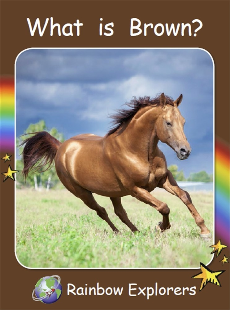 Red Rocket Readers: Rainbow Explorers: What is Brown? (Reading Level 2/F&P Level B) - Image