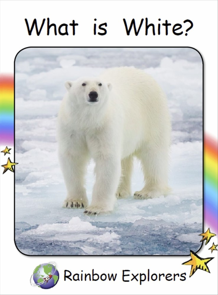 Red Rocket Readers: Rainbow Explorers: What is White? (Reading Level 2/F&P Level B) - Image