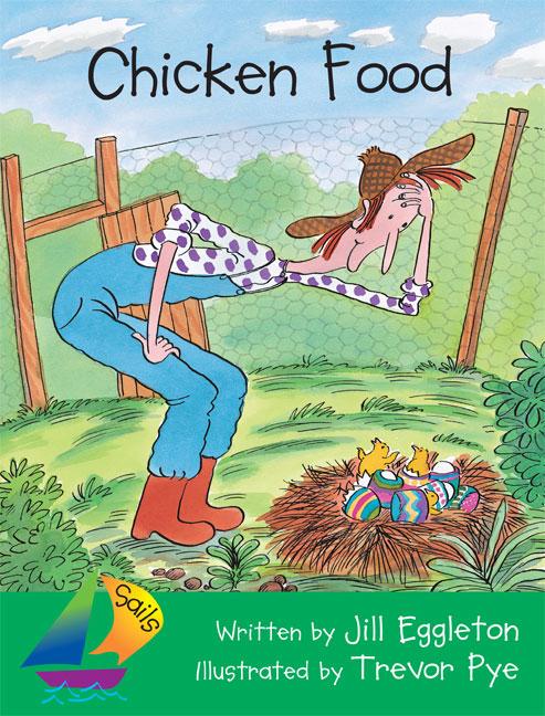 Sails Fluency Level Orange Chicken Food Big Book Eggleton