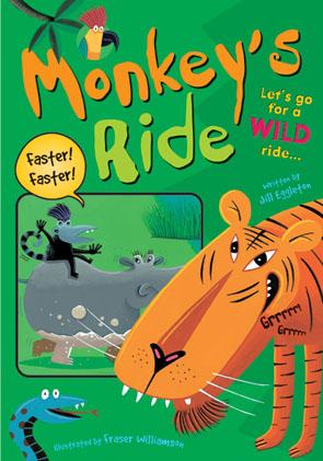 Sailing Solo Blue Level: Monkey's Ride (Reading Level 9/F&P Level F)