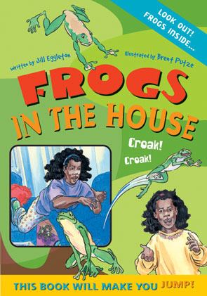 Sailing Solo Blue Level: Frogs in the House (Reading Level 10/F&P Level F)