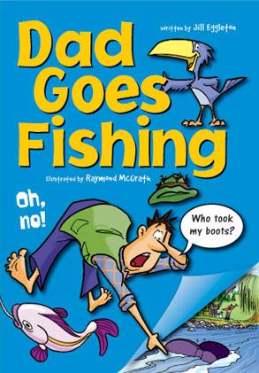 Sailing Solo Green Level: Dad Goes Fishing (Reading Level 12/F&P Level G)