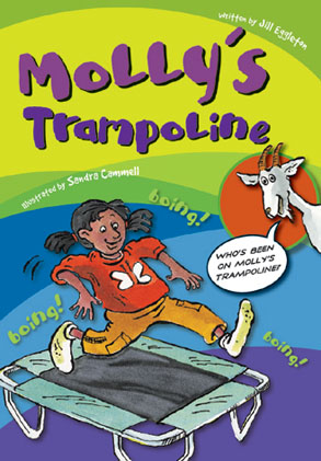 Sailing Solo Green Level: Molly's Trampoline (Reading Level 13/F&P Level H)