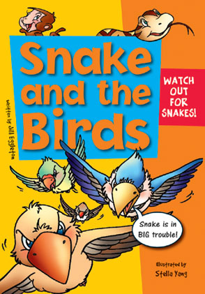 Sailing Solo Green Level: Snake and the Birds (Reading Level 12/F&P Level G)