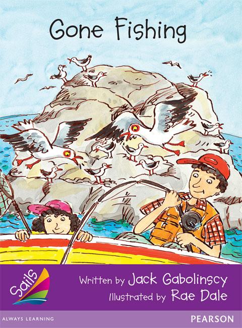 Sails Additional Fluency - Purple: Gone Fishing (Reading Level 20/F&P Level K)