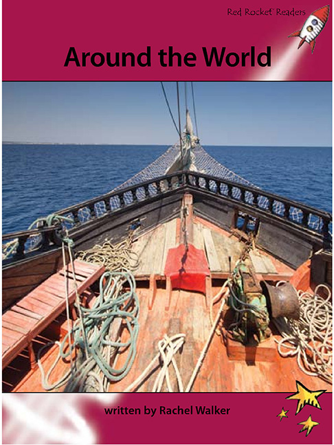 Red Rocket Readers: Advanced Fluency 3 Non-Fiction Set A: Around The World (Reading Level 28/F&P Level S) - Image