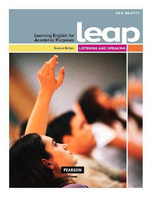 English for Academic Study: Speaking - SB + TB | Learning ...