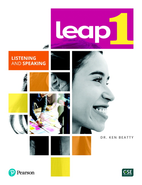 LEAP 1 - Listening and Speaking Book + eText + MyLab - Image