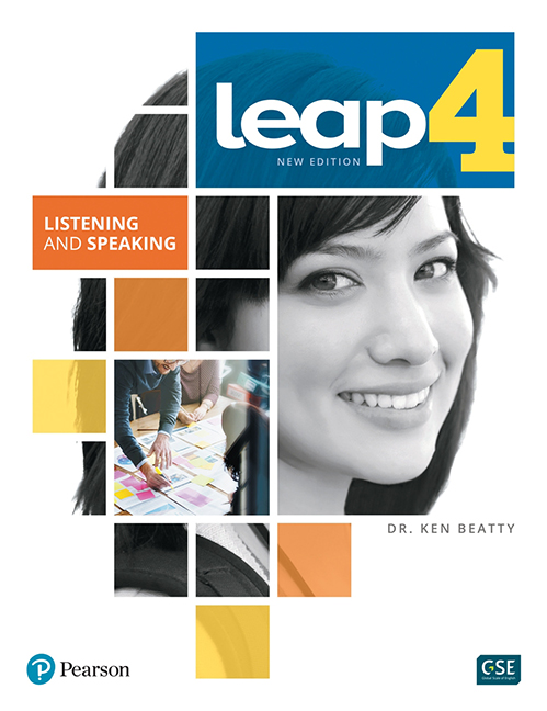 LEAP 4 - Listening and Speaking Book + eText + MyLab - Image