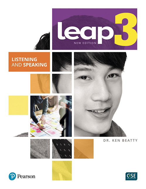 LEAP 3 - Listening and Speaking Book + eText + MyLab - Image