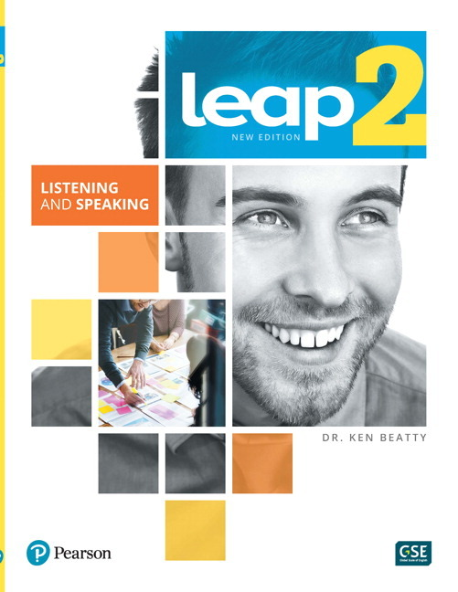 LEAP 2 - Listening and Speaking Book + eText + MyLab - Image
