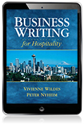 Business Writing for Hospitality eBook