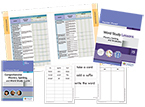 Fountas & Pinnell Word Study System: Phonics, Spelling, and Vocabulary, Grade 5