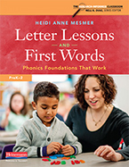 Letter Lessons and First Words
