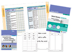 Fountas & Pinnell Word Study System: Phonics, Spelling, and Vocabulary, Grade 6