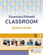 Fountas & Pinnell Classroom System Guide, Grade 4