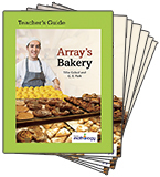 Mathology Little Books - Number: Array's Bakery (6 Pack with Teacher's Guide)