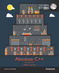 Absolute C++, Global Edition