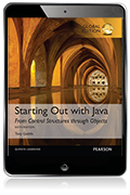 Starting Out With Java: From Control Structures through Objects, Global Edition eBook