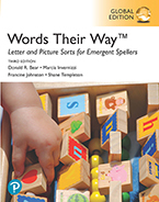 Words Their Way Letter and Picture Sorts for Emergent Spellers, Global Edition