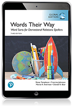 Words Their Way: Word Sorts for Derivational Relations Spellers, Global Edition eBook