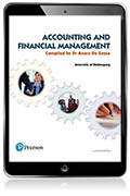 Accounting and Financial Management (Custom Edition eBook)