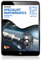 Pearson Specialist Mathematics Queensland 12 eBook