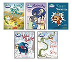 Bug Club Fluent Plus Ruby Level 27 Play Pack (5 titles x 6 copies)
