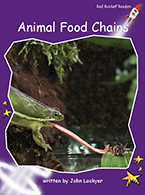 Red Rocket Readers: Fluency Level 3 Non-Fiction Set C: Animal Food Chains (Reading Level 17/F&P Level M)